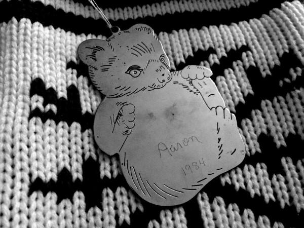 xmas-countdown20 bear ornament