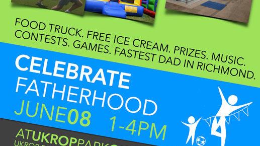celebrate fatherhood poster