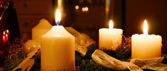christmas countdown advent wreath